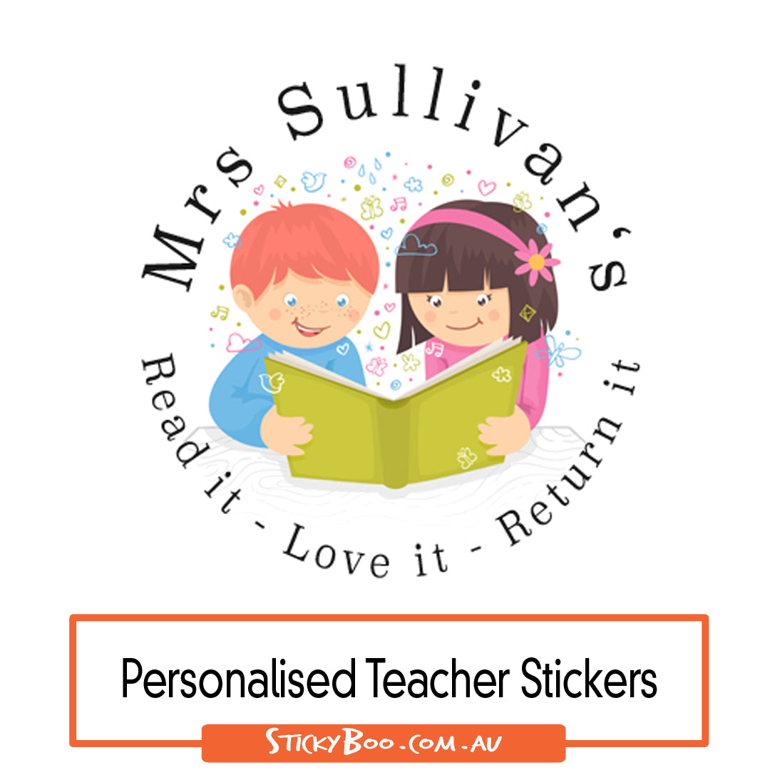 Classroom library personalised