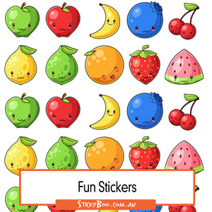 Fruity Goodness Sticker Pack