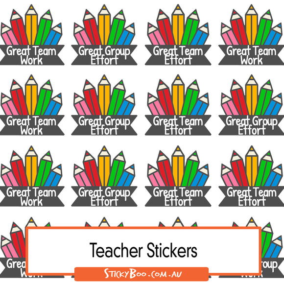 Reward Stickers - Great Groups