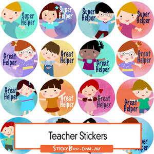 Reward Stickers - Great Helpers