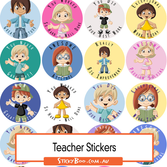 Reward Stickers - Great Kids