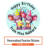 Happy Birthday Mouse - Personalised