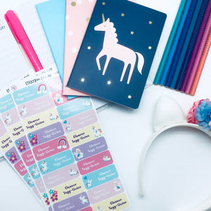 Unicorn Fun - Personalised