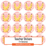 Reward Stickers - I'm Bananas