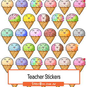 Reward Stickers - Ice Cream Dream