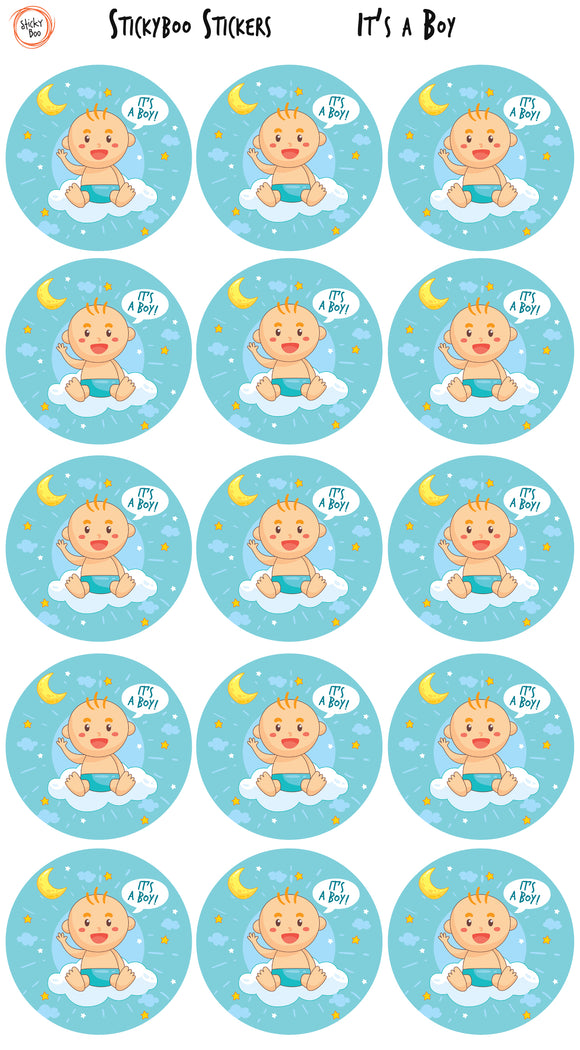 Fun Stickers - It's a boy