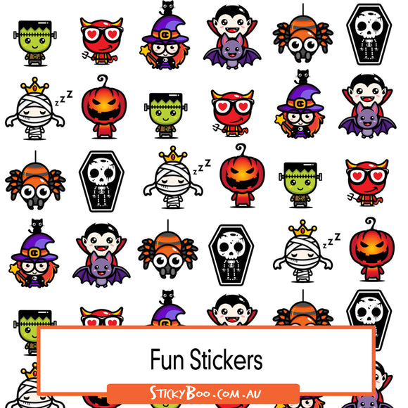 It's Spooky Sticker Pack