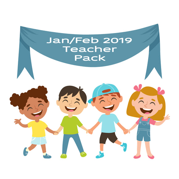 SOLD OUT - Jan/Feb 19 Teacher Sticker Pack
