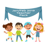 Jan/Feb 19 Teacher Sticker Pack
