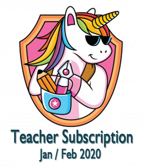 Jan / Feb 2020 Teacher Sticker Pack