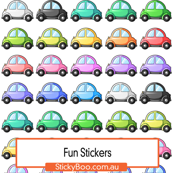 Beep Beep Sticker Pack