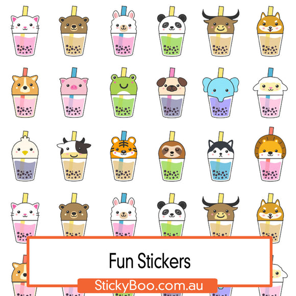 Bubble Tea Friends Sticker Pack