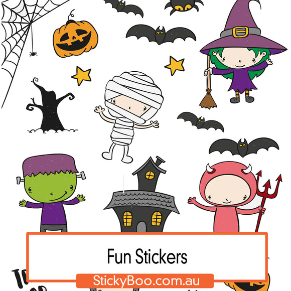 Halloween Fun Sticker Pack