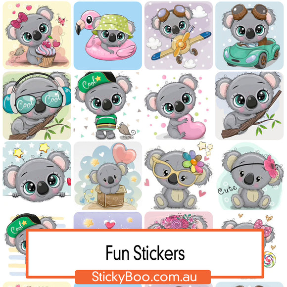 Koala Love Sticker Pack
