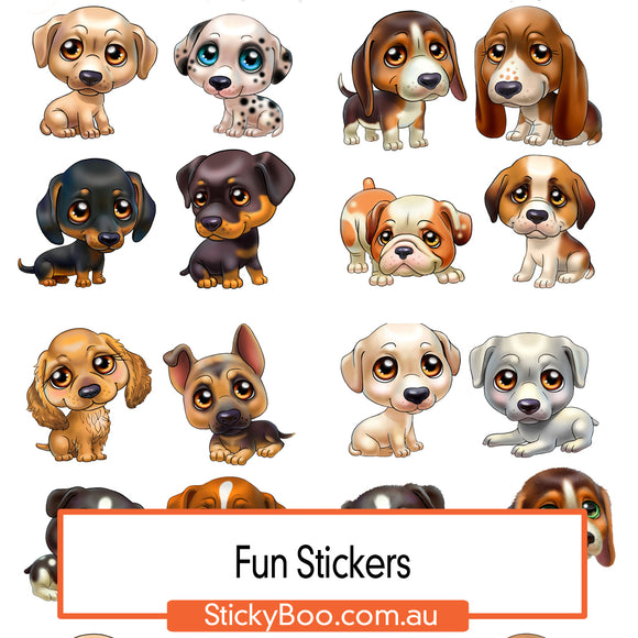 Puppy Fun Sticker Pack