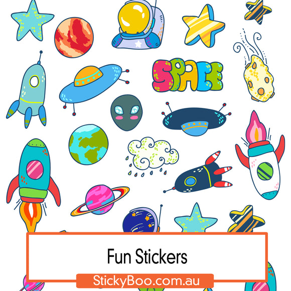 Space Fun Sticker Pack