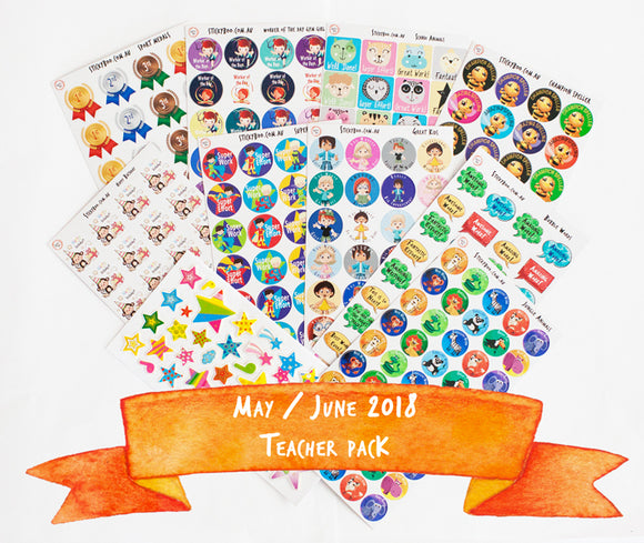 May/June 2018 Sticker Pack