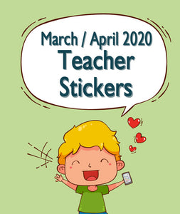 Pre Sale - March / April 2020 Teacher Sticker Pack