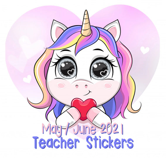 Pre Sale - May  / June 2021 Teacher Sticker Pack