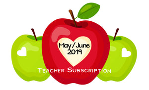 May / June 19 Teacher Sticker Pack