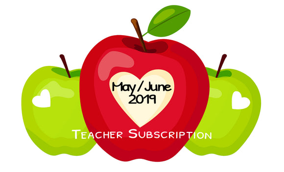 SOLD OUT - May / June 19 Teacher Sticker Pack