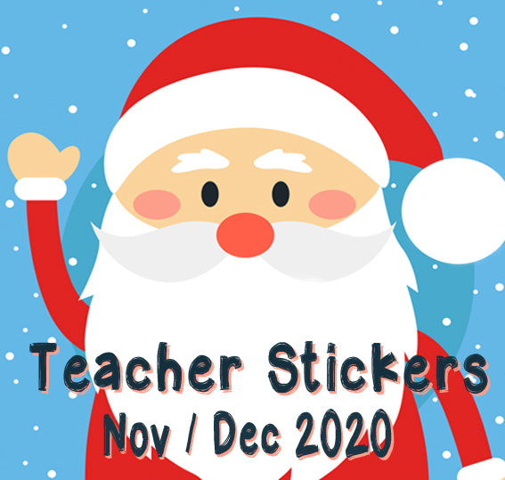 Nov / Dec 2020 Teacher Sticker Pack