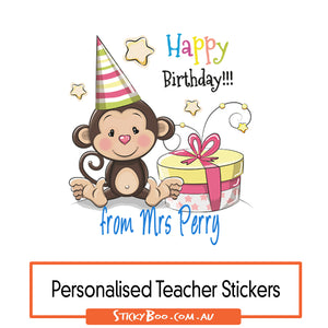 Happy Birthday - Personalised