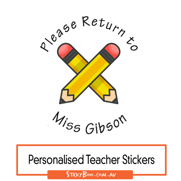Please Return Pencils - Personalised