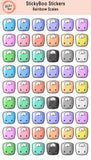 Rainbow Complete Series - Planner Stickers