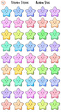 Reward Stickers - Rainbow Stars
