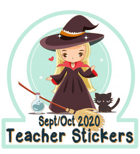 Pre Sale - Sept / October 2020 Teacher Sticker Pack