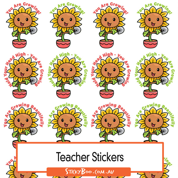 Reward Stickers - Sun Flower Bloom