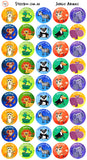 Reward Stickers - Jungle Animals