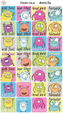 Reward Stickers - Monster Fun