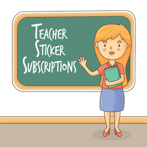 Teacher Sticker Subscription