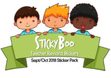 Sept/Oct 18 Teacher Sticker Pack