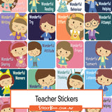 Reward Stickers - Wonderful Day