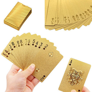 GOLD Playing Cards Deck