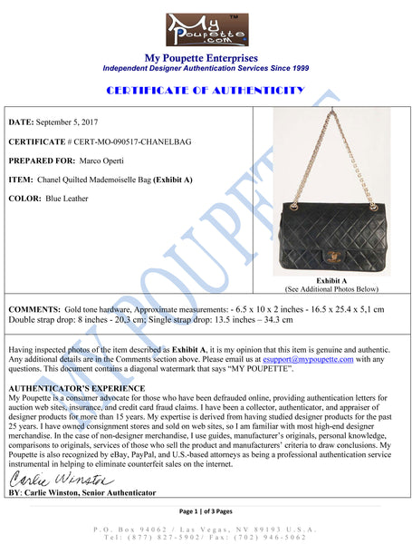 Authenticated CHANEL Vintage bag by MyPoupette