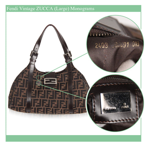 a46434e938a7 AUTHENTI-HOW  Experience Guide on FENDI Vintage Bags and Purses ...