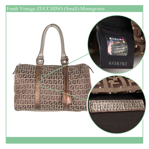 More recent zucchino boston bag, with gold monograms. ophertyciocci