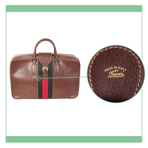 858e664a27d8 AUTHENTI-HOW  A Close look at GUCCI logos and serials – OPHERTY   CIOCCI