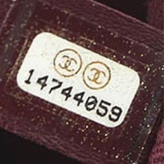Chanel Serial Reference Sticker and Number - 2011