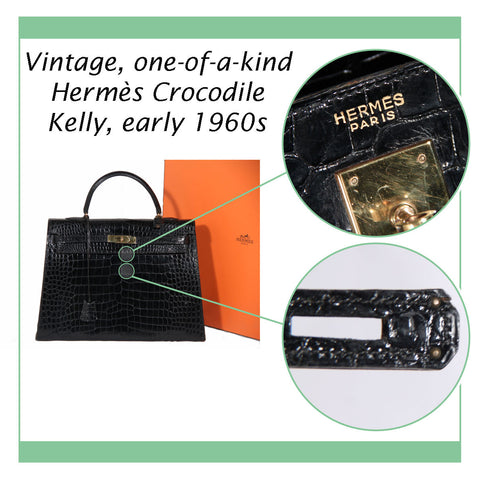Authenti-How: Hermès Vintage Kelly Bag, 1960s, OPHERTY & CIOCCI