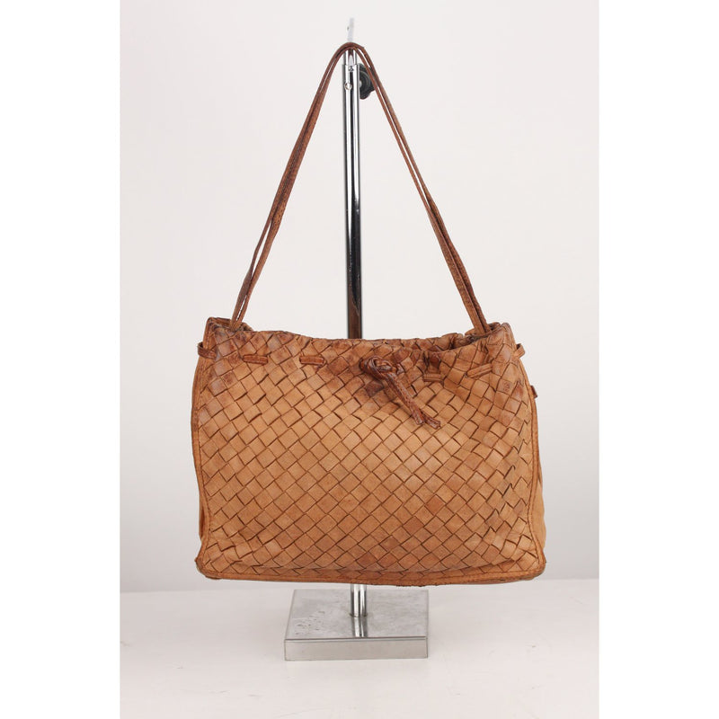 Bottega Veneta Vintage Intrecciato Woven Shoulder Bag