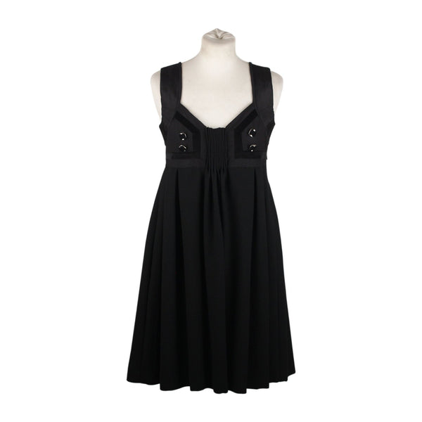 Gucci Black Sleeveless Smock Dress Little Black Dress