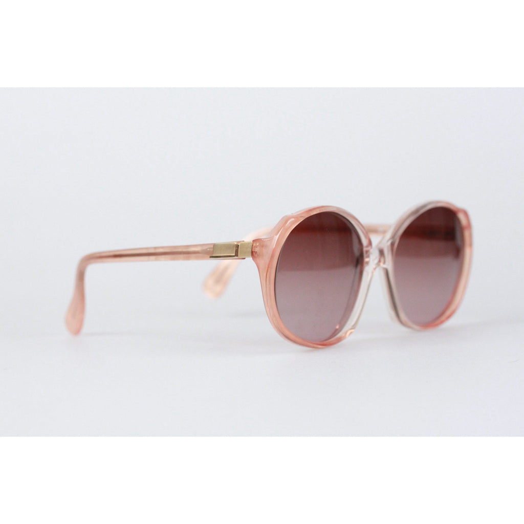 Vintage Powder Pink Sunglasses 0C136
