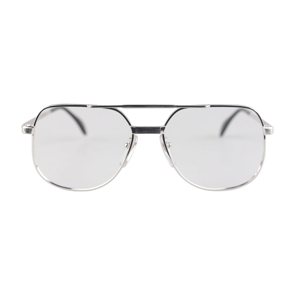 10K GF White Gold Filled Sunglasses Mod 414 56mm