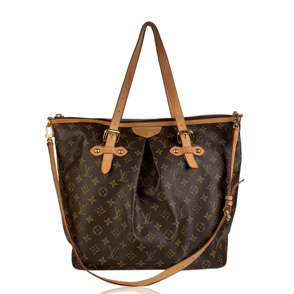 Louis Vuitton Monogram Canvas Palermo GM Tote Bag with Strap