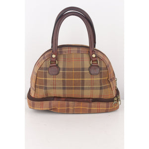 Satchel Bag with Bottom Compartment